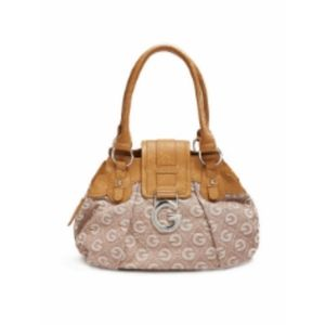 Tan & Beige G by Guess Calliah Tote